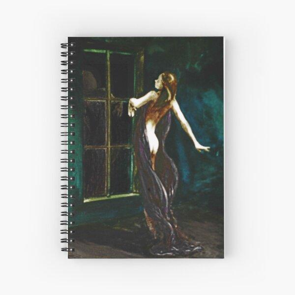 The Dance; watercolors  (Phoenix mother, hands like clouds) Spiralblock