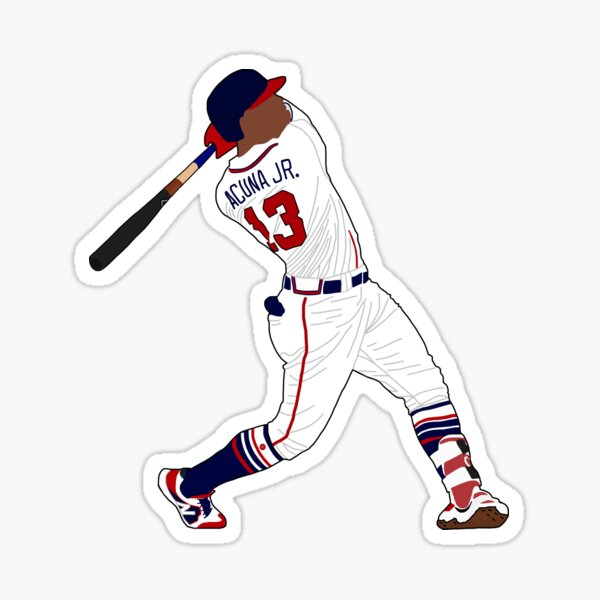 Ronald Acuna Jr Sticker