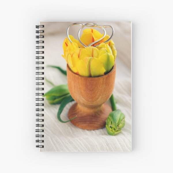 The Gift of Spring and Love  Spiral Notebook