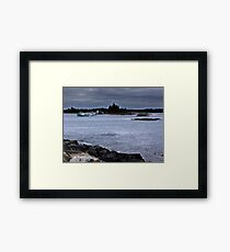 Blue Rocks, Late October Framed Print
