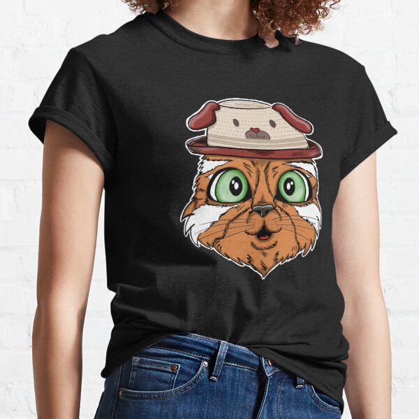 Cute Cat with Doghat Classic T-Shirt