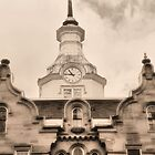 asylum clocktower by jbiller