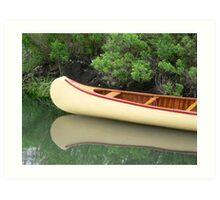 Kodachrome Canoe Art Print