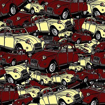 AUTO 2cv classic car France Deux Chevaux France junkyard #classiccars search image by Mauswohn