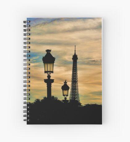 Crépuscule Spiral Notebook