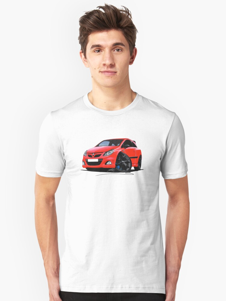 Vauxhall Corsa VXRacing Red by yeomanscarart