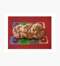 Art Glass Ginger Cookies Art Print