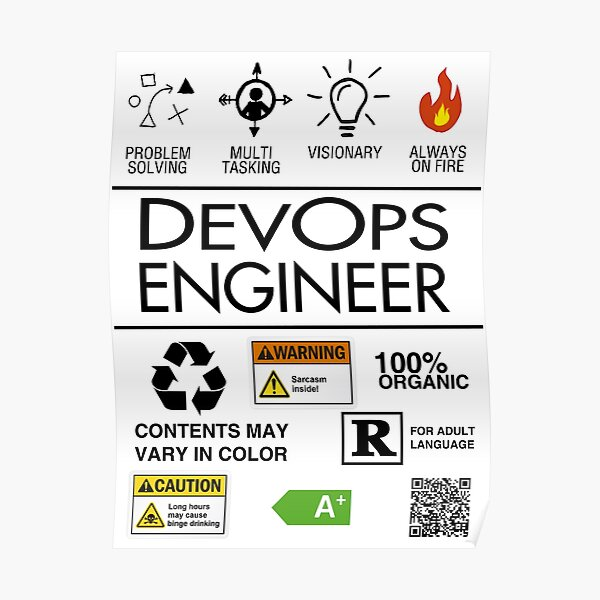 DevOps - Always on Fire! Poster