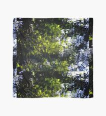 Ripples - abstract reflection of trees in moving water Scarf