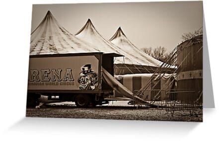 Winter Circus by Nayko