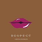 From the lips of Aretha Franklin by Namoh