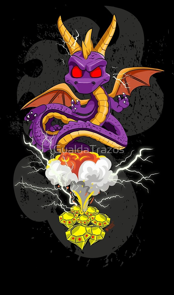 «Spyro» de GualdaTrazos