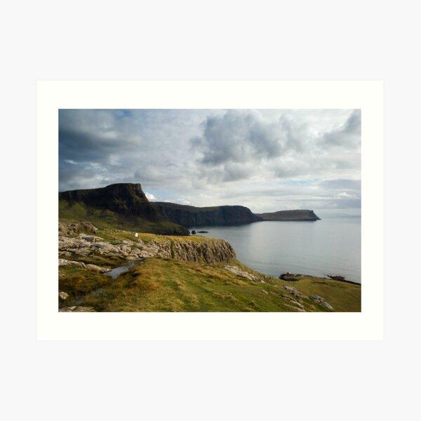 Beautiful view, Isle of Skye Art Print