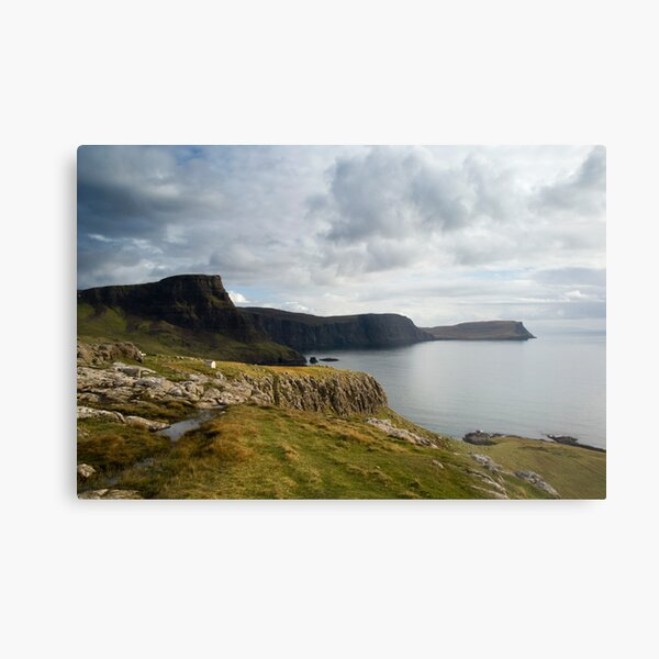 Beautiful view, Isle of Skye Metal Print