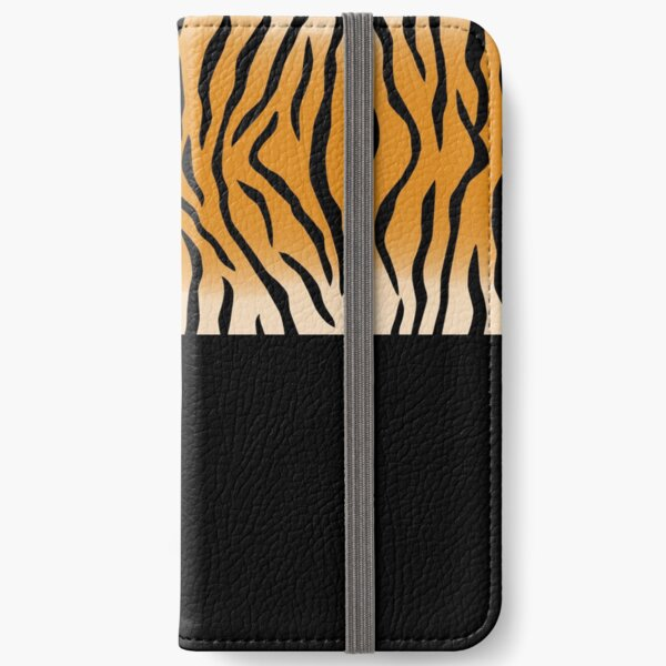 Tiger Print iPhone Flip-Case
