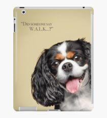 Curious and Cute Cavalier King Charles Spaniel iPad Case/Skin