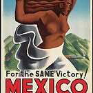 Vintage Mexico Travel Advertisement Art Posters by jnniepce