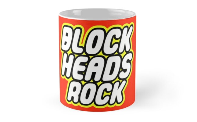 BLOCK HEADS ROCK by Customize My Minifig