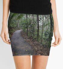 Rainforest painting Mini Skirt