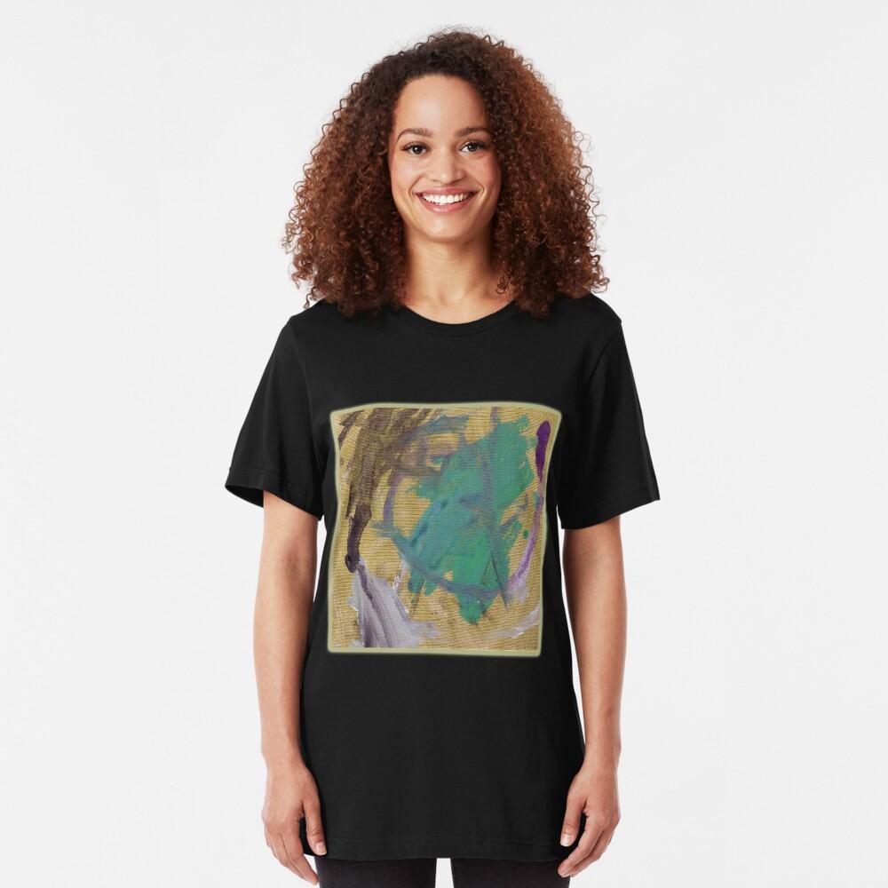 Purple Road Runner Slim Fit T-Shirt