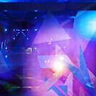 Purple Abstract Triangles by stine1
