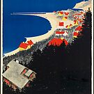 Vintage Gilleleje Denmark Travel Advertisement Art Posters by jnniepce