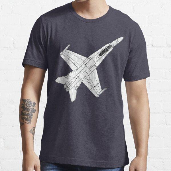 F 18 Hornet Jet Fighter Essential T-Shirt
