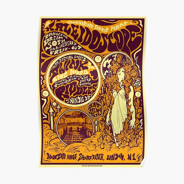 Kaleidoscope Tour Poster 2 Poster