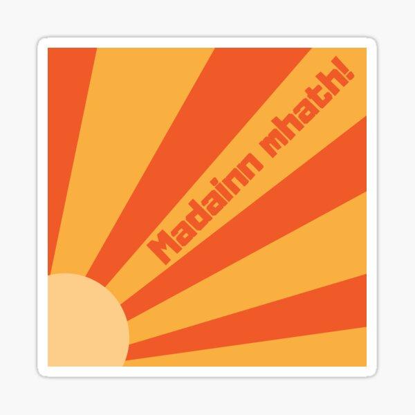 Madainn mhath! Sticker