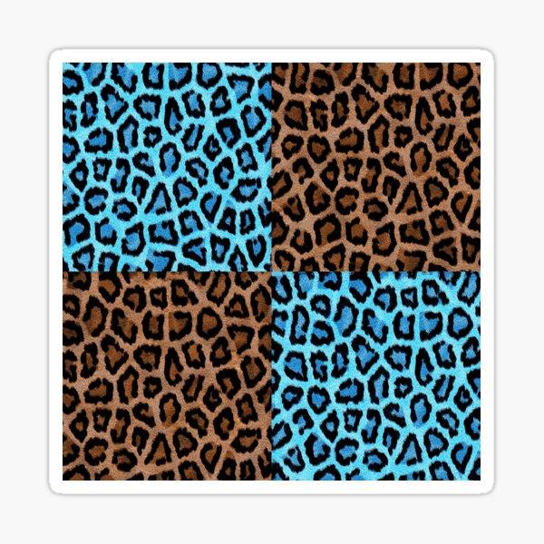 Leoparden Print Sticker