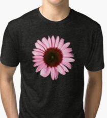 'New Pink Coneflower' Tri-blend T-Shirt