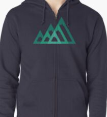 Mountains Zipped Hoodie