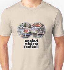 Against Modern Football 4 Unisex T-Shirt