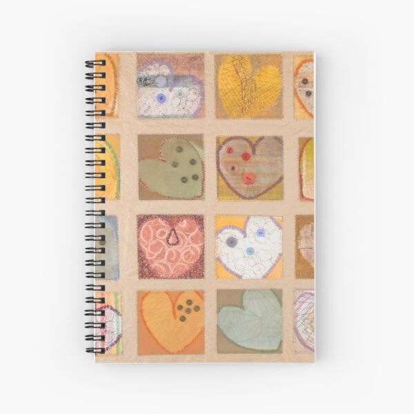 All Hearts Beat, Like a Whisper from Heaven Spiral Notebook