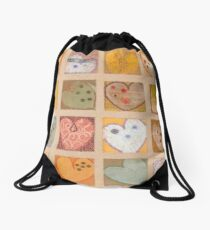 All Hearts Beat, Like a Whisper from Heaven Drawstring Bag