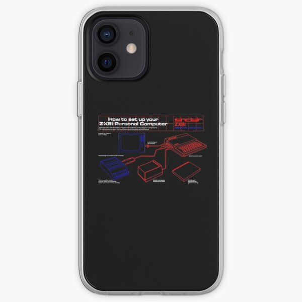 SINCLAIR ZX81 iPhone Soft Case