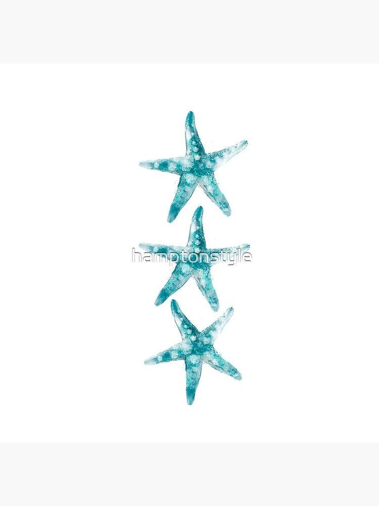 Aquamarine starfish by hamptonstyle
