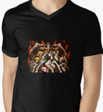Overlord Anime Graphic Art Men's V-Neck T-Shirt