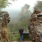 Orphan Rock View - Blue Mountains, NSW by Dilshara Hill