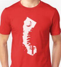 California Sequoia Forest Moon Silhouette Unisex T-Shirt