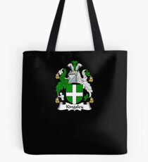 Kingsley Coat of Arms - Family Crest Shirt Tote Bag