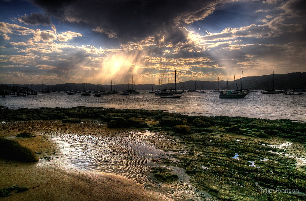 Blessing - Paradise Beach Sydney - The HDR Experience by Philip Johnson