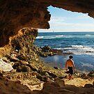 Framed Seascape, Kauai by Amy Hale