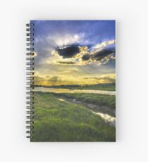 Here Come's the Sun Spiral Notebook