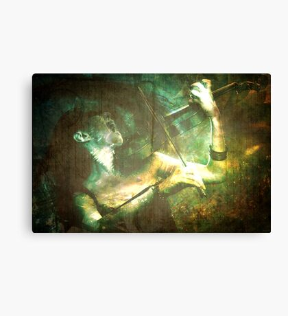 Double for all Her Sins Canvas Print