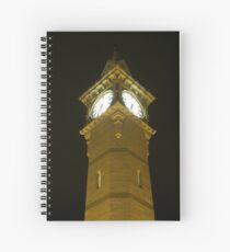 Barnstaple Clock Tower by night Spiral Notebook