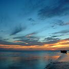 Sunset - Heron Island, QLD by Dilshara Hill