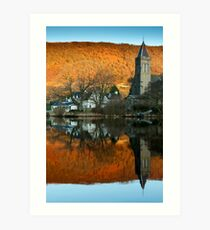 Awake Kirk, Port of Menteith, Scotland Art Print