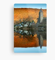 Awake Kirk, Port of Menteith, Scotland Metal Print