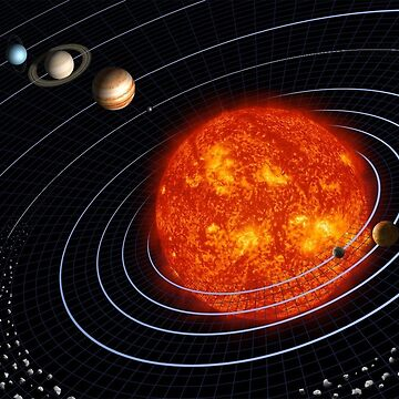 solar system by The-Engineer